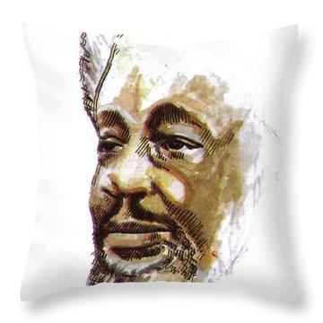 Wole Soyinka Throw Pillow