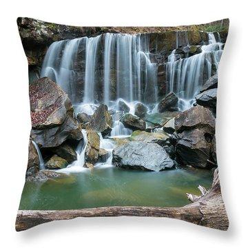 Wolf Creek Falls Throw Pillow