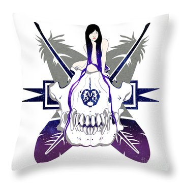 Wolf Spirit Throw Pillow