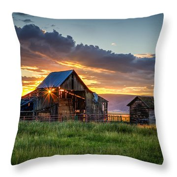 Wolff Barn Throw Pillow