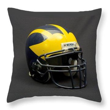 Wolverine Helmet Of The 2000s Era Throw Pillow