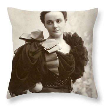 Woman, C1885 Throw Pillow