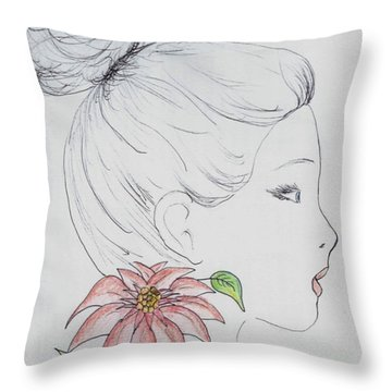Woman Design - 2016 Throw Pillow