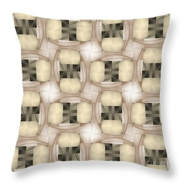Woman Image Eight Throw Pillow