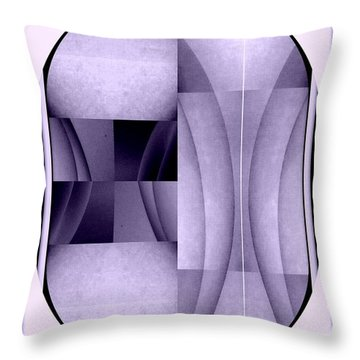 Woman Image Four Throw Pillow