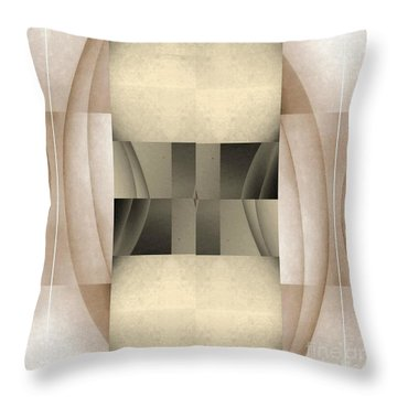 Woman Image Seven Throw Pillow