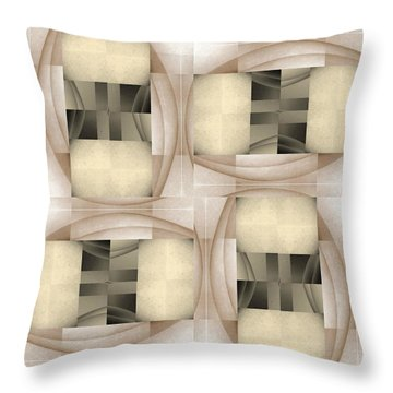Woman Image Six Throw Pillow