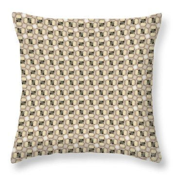 Woman Image Ten Throw Pillow