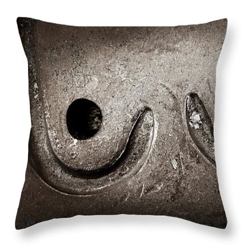 Womanly  Throw Pillow by JoAnn Lense