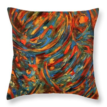 Womb Twin Throw Pillow