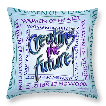 Women Of Vision Throw Pillow