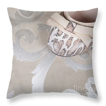 Throw Pillow featuring the photograph Women's Shoe by Andrey  Godyaykin