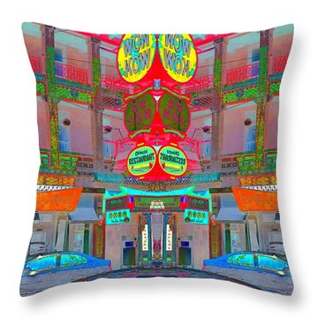 Throw Pillow featuring the photograph Won Kow, Wow 1 by Marianne Dow