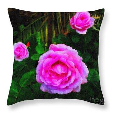 Wonder Of Nature Throw Pillow by Blair Stuart