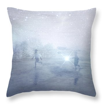 Wonder On A Starry Night Throw Pillow