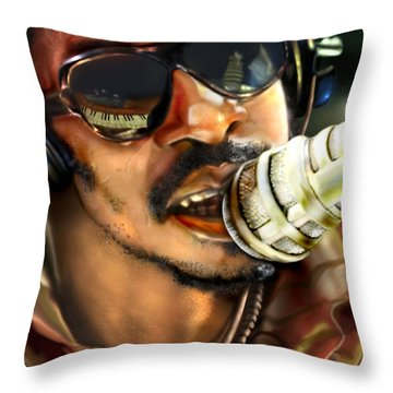 Wonder - Seeing Beyond Sight Throw Pillow