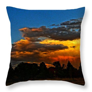 Wonder Walk Throw Pillow