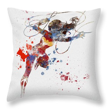 Wonder Woman Throw Pillow
