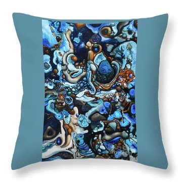 Wonderfall Throw Pillow by Devin Cogger