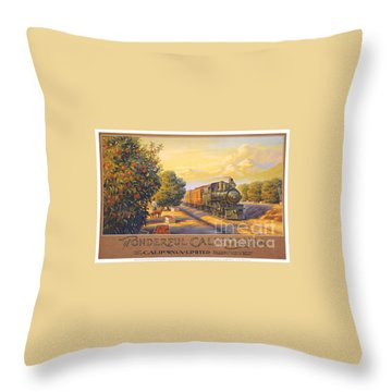 Wonderful California Throw Pillow