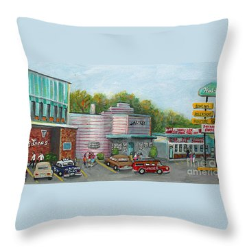 Wonderful Memories Of The Wal-lex Throw Pillow