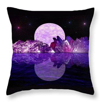 Throw Pillow featuring the photograph Wonderland by Bernd Hau