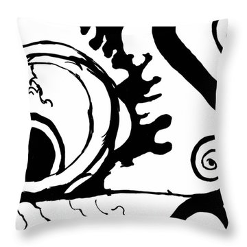 Wonderland Throw Pillow