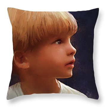 Wonderment Throw Pillow