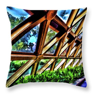 Wonders Of Life Throw Pillow
