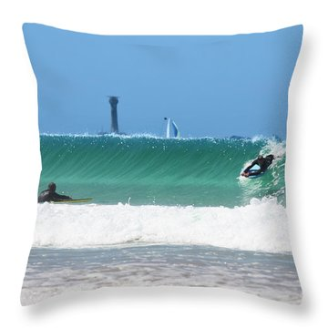Throw Pillow featuring the photograph Wonderwall by Terri Waters