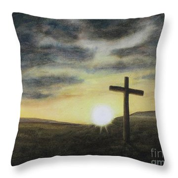 Wondrous Cross Throw Pillow