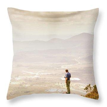 Wondrous Western Tasmania Throw Pillow