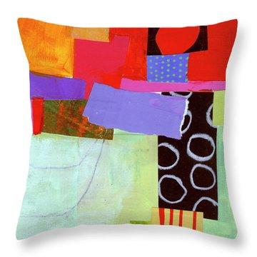 Wonky Grid #19 Throw Pillow
