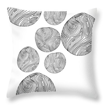 Wood Print Vertical Throw Pillow