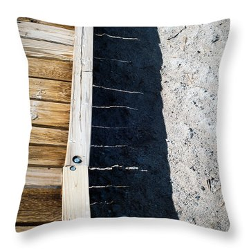 Throw Pillow featuring the photograph Wooden Bridge  by Catherine Lau