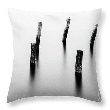 Wooden Post Throw Pillow