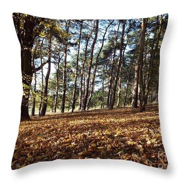 Woodland Carpet Throw Pillow