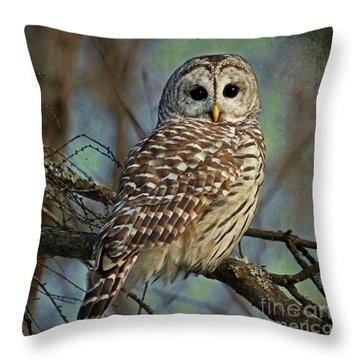 Woodland Goddess Throw Pillow