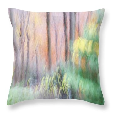 Woodland Hues 2 Throw Pillow