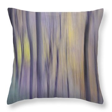Woodland Hues Throw Pillow