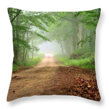 Woodland Journey Throw Pillow