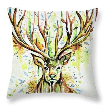 Woodland Magic Throw Pillow