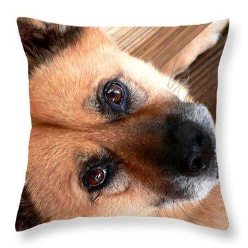 Woodrow Wooten Throw Pillow