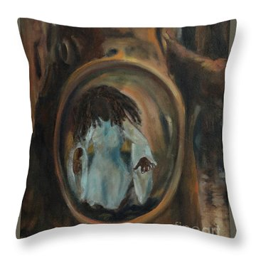 Woods Fairy Throw Pillow