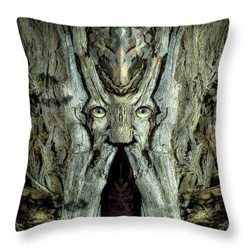 Woody 231 Throw Pillow