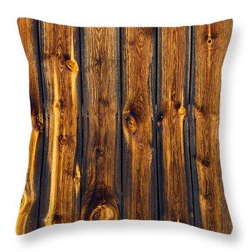 Woody Tiger Throw Pillow