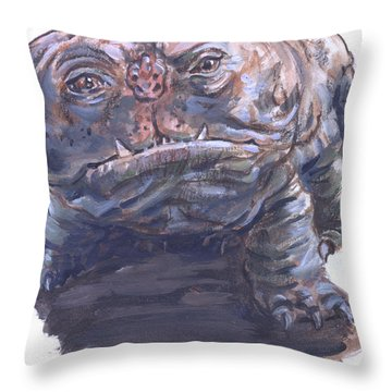 Woola Throw Pillow
