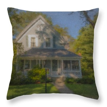 Wooster Family Home Throw Pillow