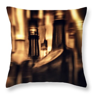Woozy Throw Pillow by Rajiv Chopra