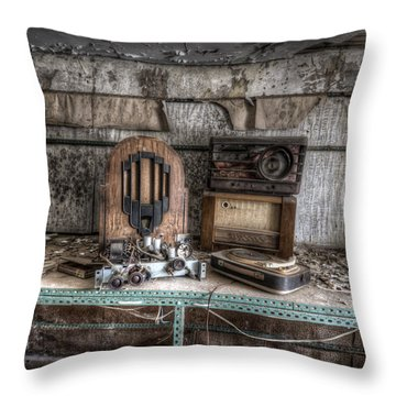 Work Time Throw Pillow by Nathan Wright
